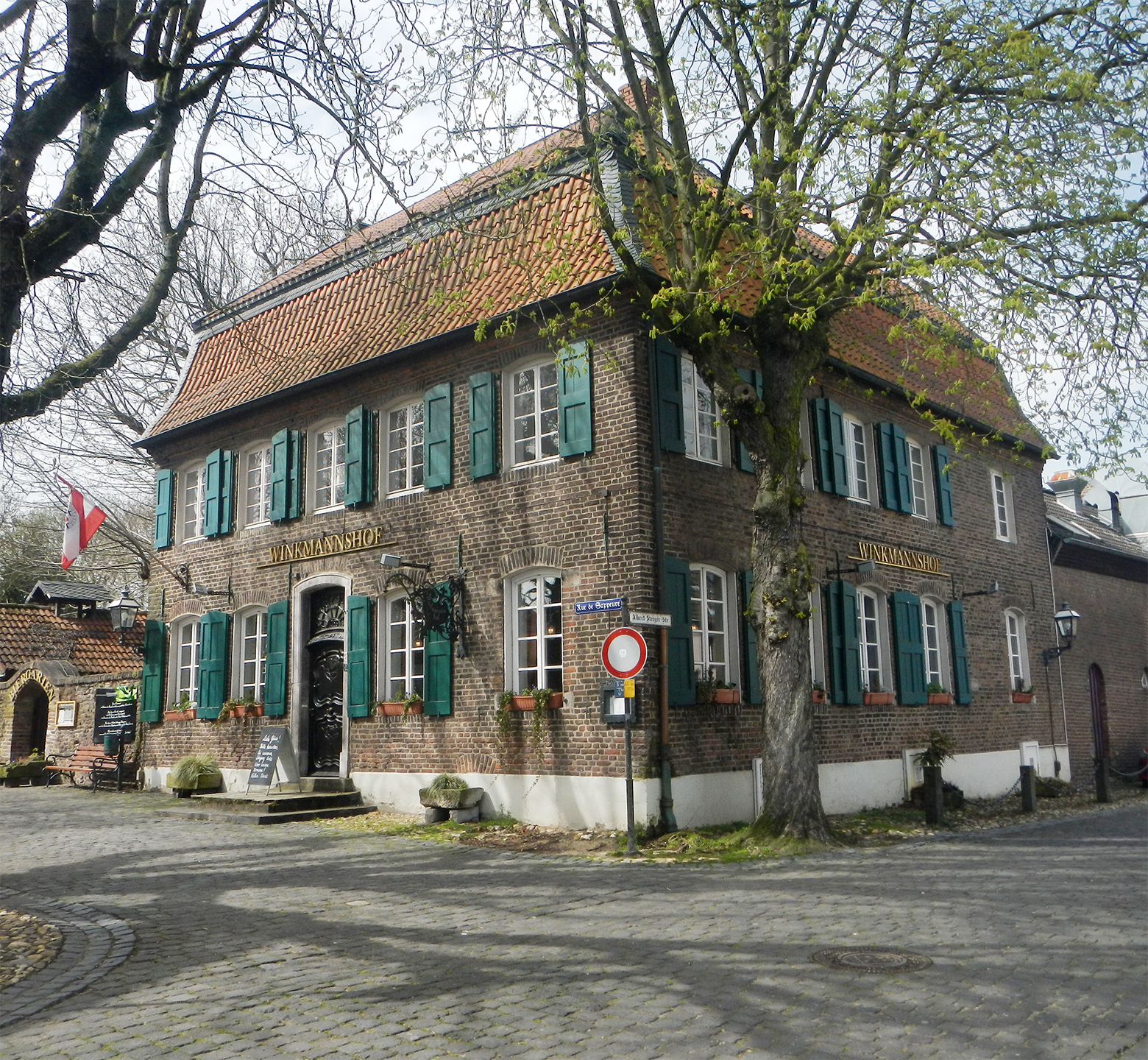 Burg Linn Beirgarten