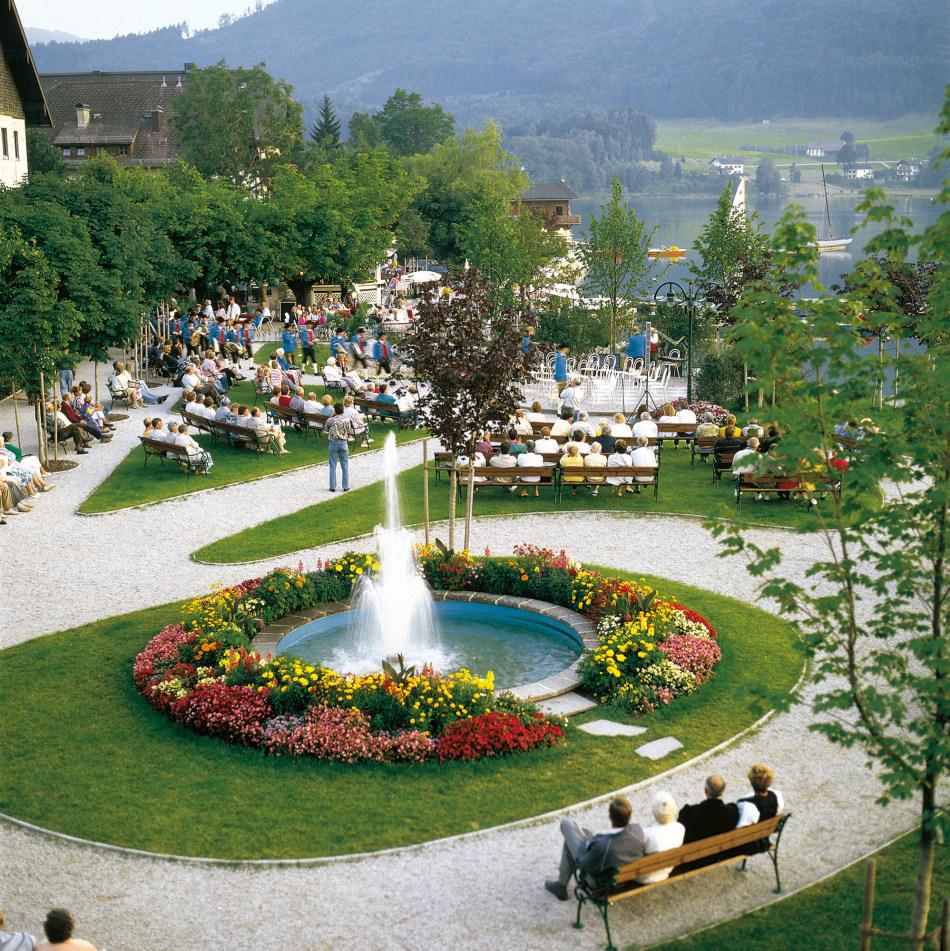Fuschl village green