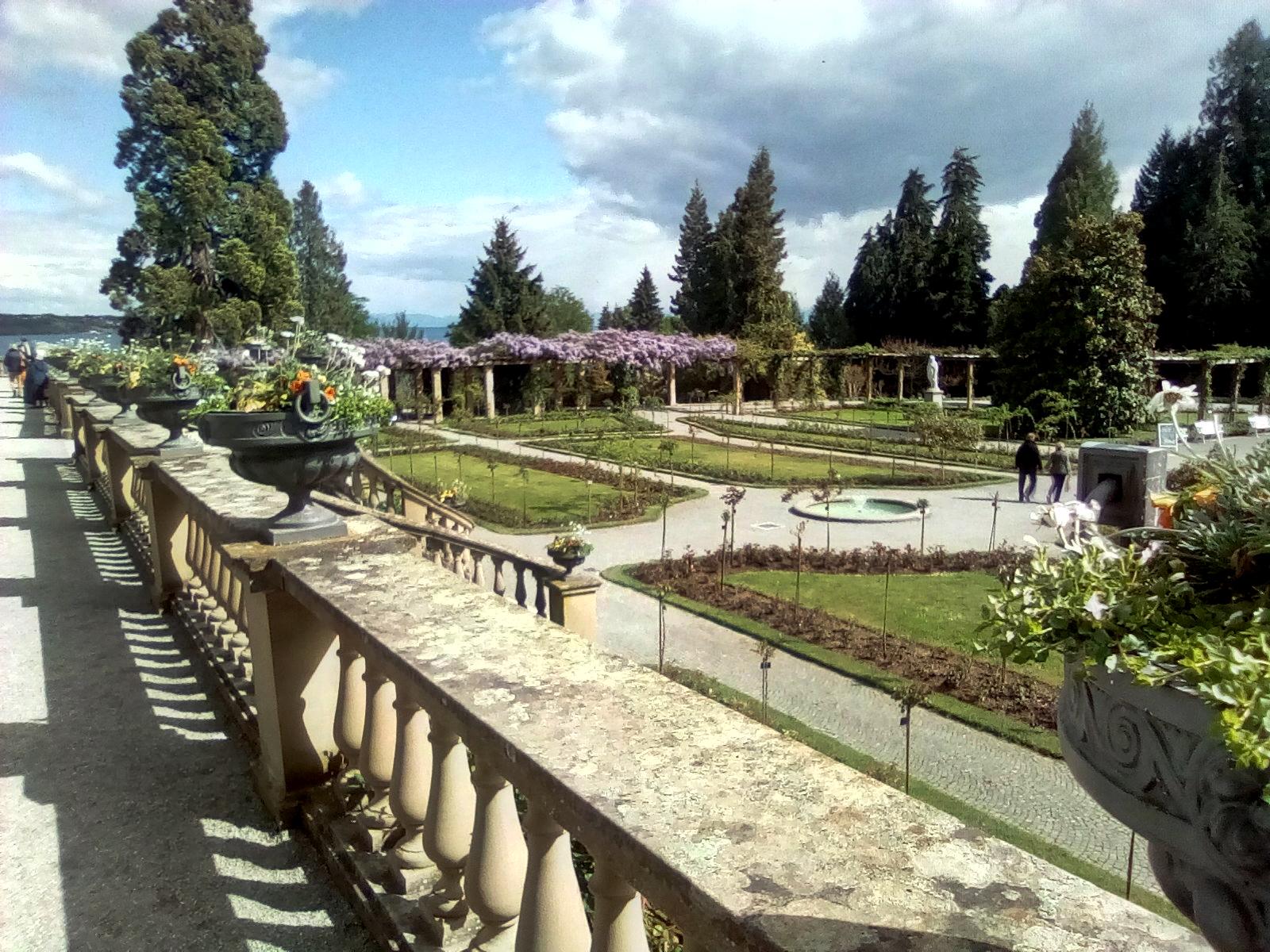 Garten an Schloss Mainau